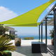 tenda a vela resistente agli UV / su misura / resistente al vento / triangolare