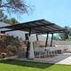 copertura per pergola con protezione solare / in tela / per uso residenziale / contract