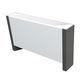 termoconvettore elettrico / 2501 w...3000 w / moderno / in metallo