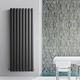 radiatore ad acqua calda / in alluminio / moderno / da parete