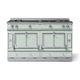 blocco cucina a gas / elettrico / con doppia alimentazione / attrezzato
