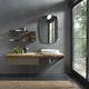mobile lavabo sospeso / in legno / moderno / con cassetti