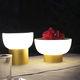 lampada da tavolo / in alluminio anodizzato / in polietilene rotostampato / moderna