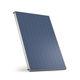 pannello solare termico piano / per scaldare l'acqua / con telaio in alluminio / montaggio verticale