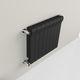 radiatore ad acqua calda / <500 w / moderno / in alluminio