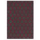 tappeto moderno / motivo geometrico / in lana della Nuova Zelanda / rettangolare