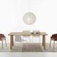 tavolo da lavoro moderno / in legno / con supporto in legno / rettangolare
