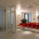 parete scorrevole impilabile / vetrata / ad uso professionale / insonorizzata