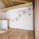 parete scorrevole impilabile / in legno / per uso residenziale / decorativa