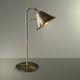 lampada da tavolo / in metallo / classica / dorata