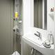 bagno moderno / in ceramica / in composito / contract