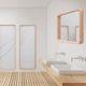 specchio a muro / per camera da letto / moderno / rettangolare