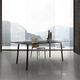 tavolo moderno / in vetro / in HPL / in melamminico