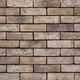 mattone faccia a vista in laterizio / per facciata / anticato / grigio