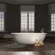 vasca da bagno da appoggio / ovale / in Cristalplant®