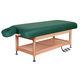 lettino per massaggi elettrico / idraulico / in legno / con contenitore