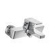 miscelatore da doccia / per vasca / da parete / in metallo