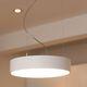 lampada a sospensione / moderna / in alluminio / in PMMA