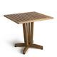 tavolo moderno / in legno / quadrato / per edifici pubblici