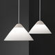 lampada a sospensione / moderna / in acciaio / in alluminio verniciato