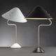 lampada da tavolo / moderna / in alluminio verniciato / in acciaio inossidabile spazzolato