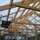 ossatura per tetto in legno / lamellare / prefabbricata