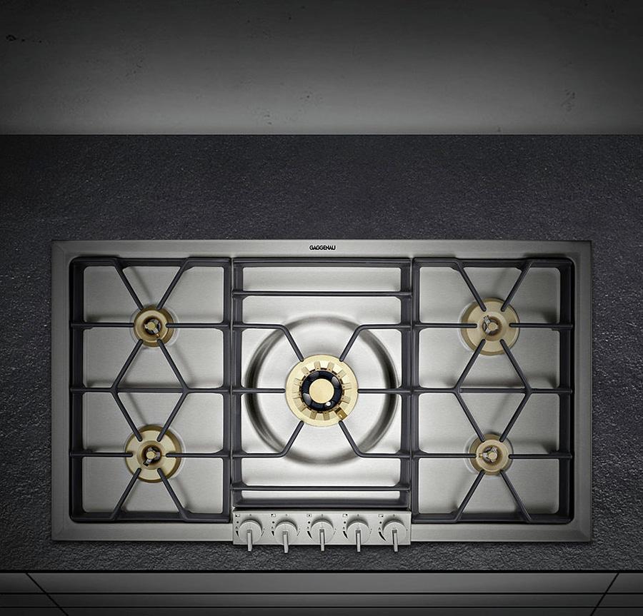 NOVITÀ: piano cottura a gas by GAGGENAU - GAGGENAU