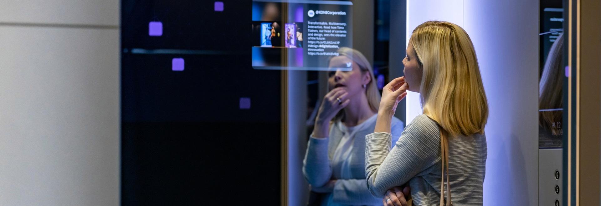 Gli ascensori della classe DX di Kone saranno super collegati.