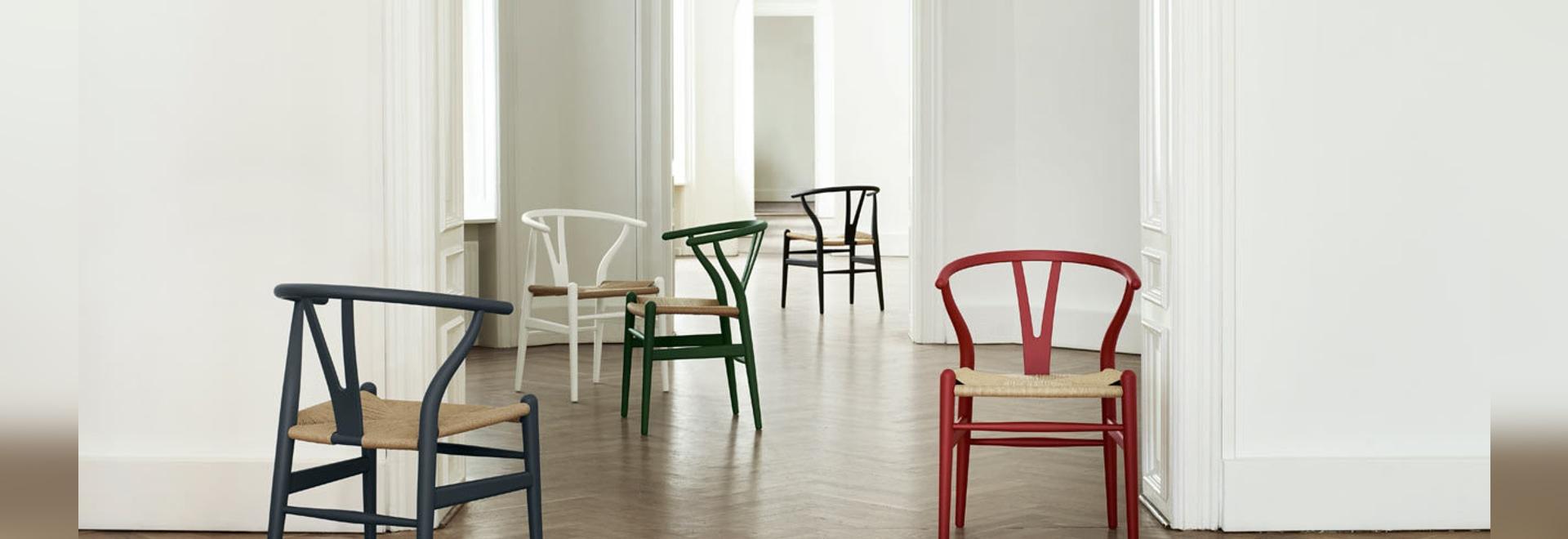 Carl Hansen lancia la sedia Wishbone Chair in edizione limitata in colori tenui