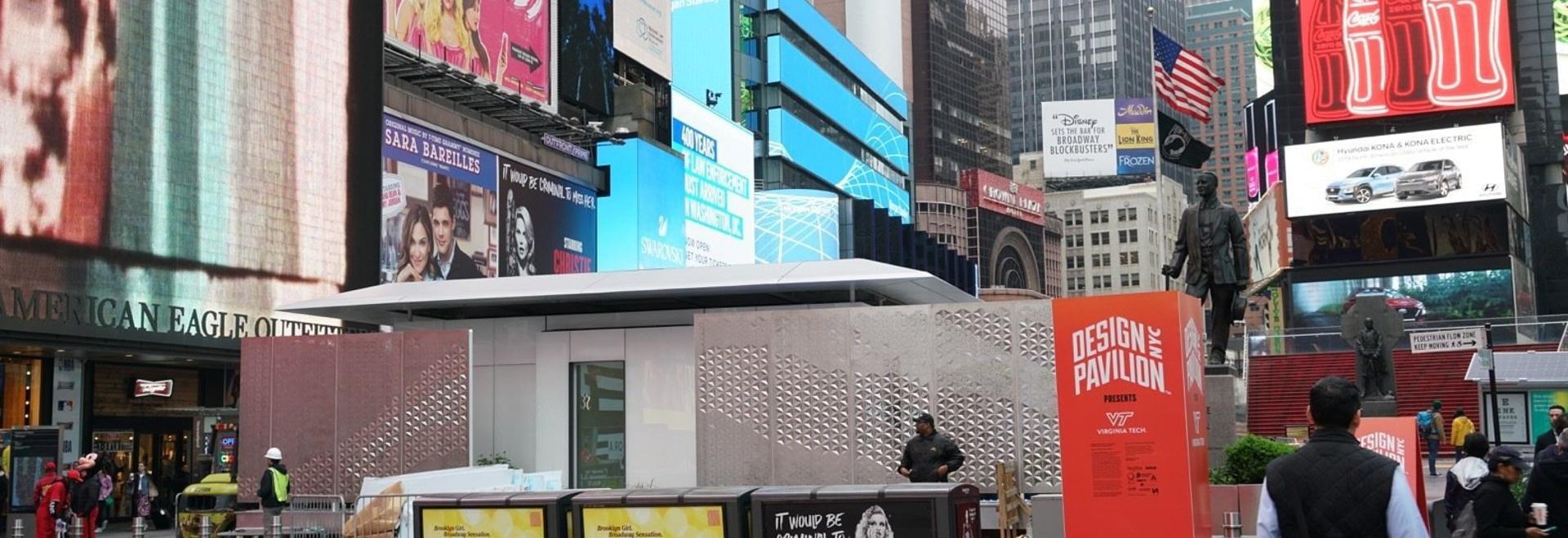 Una casa LEGO-Like Home alimentata interamente dal sole si apre in Times Square