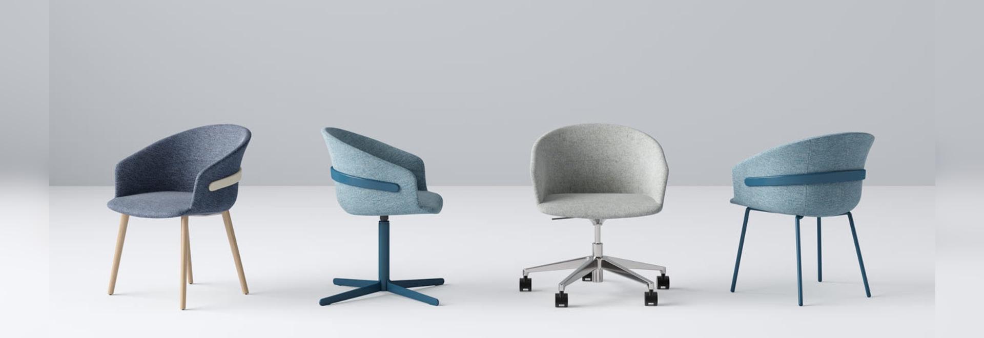 Claesson Koivisto Rune progetta la collezione di sedie Clip per lo Studio TK