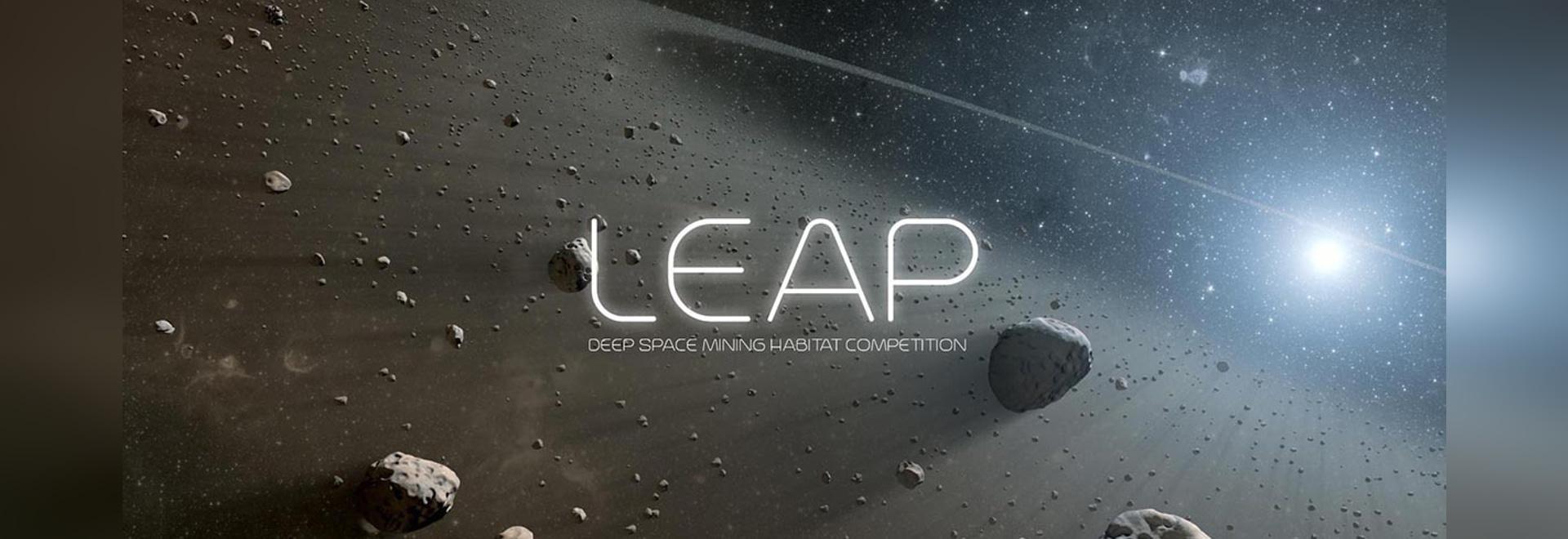 La concorrenza: Leap - Concorso di progettazione habitat spaziale