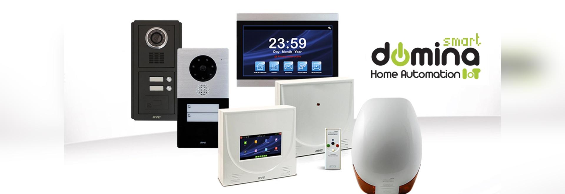 DOMINA Smart: antintrusione e videocitofonia, le grandi novità del sistema integrato AVE