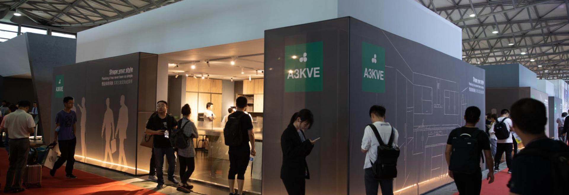 Grande successo per Arredo3 al Kitchen & Bath 2019 China