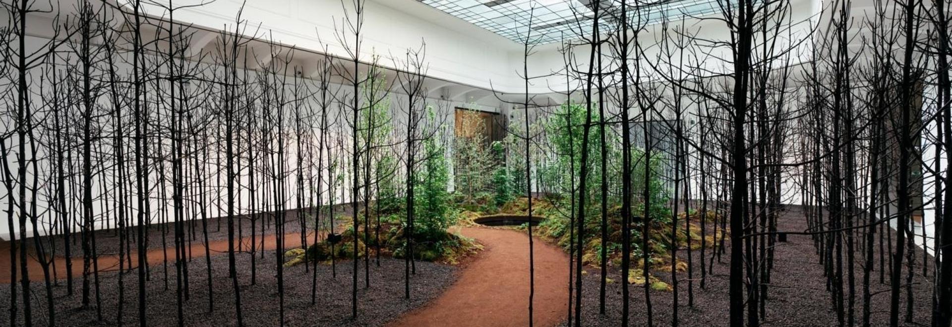 Invocazione per la speranza al Museo delle Arti Applicate come parte della Biennale di Vienna per il cambiamento 2021. Fotografia Gregor Hofbauer