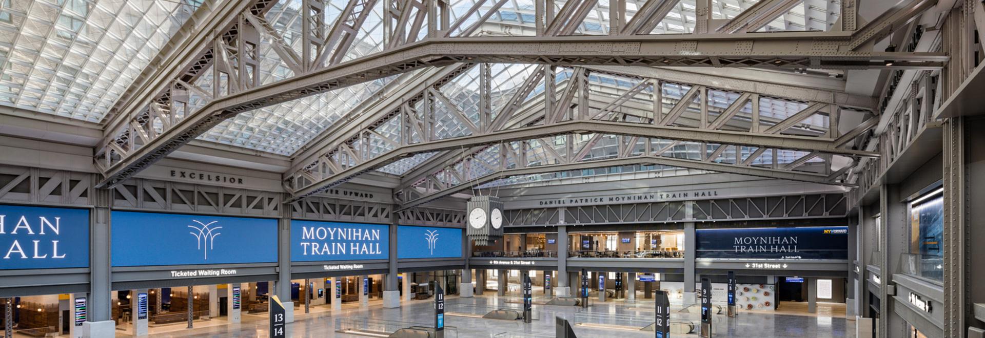 Moynihan Train Hall / SOM