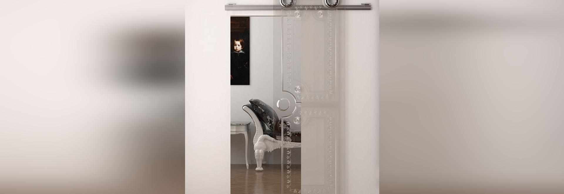 NOVITÀ: sistema scorrevole per porte in vetro by KRONA KOBLENZ SpA