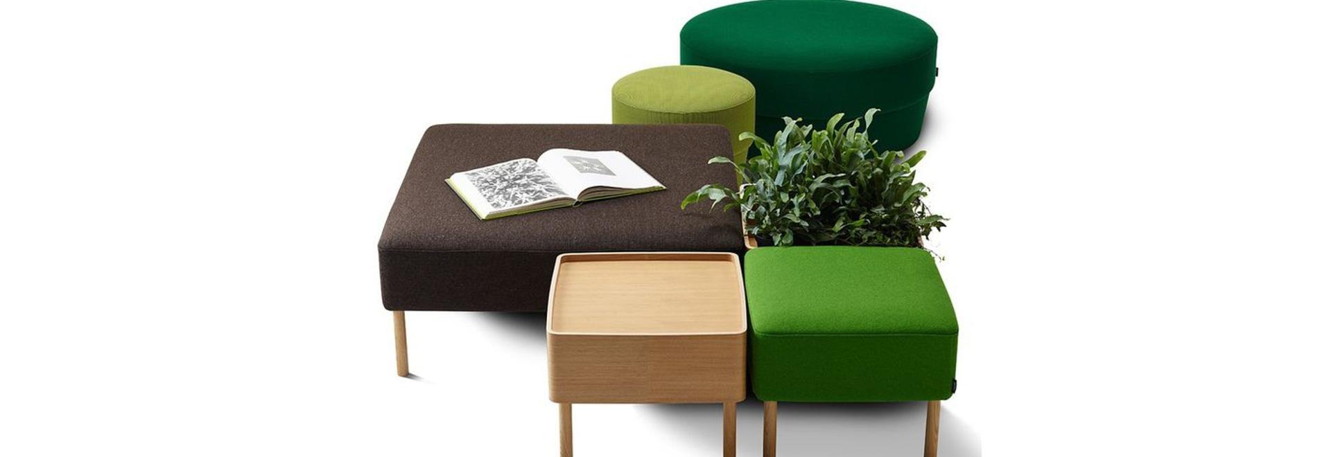 NUOVO: tavolino da salotto di Swedese Möbler