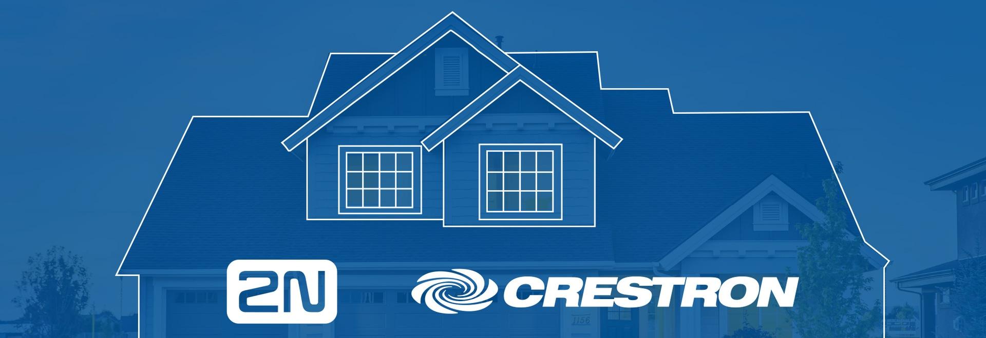 Offrite un'abitazione intelligente. Offrite 2N insieme a Crestron