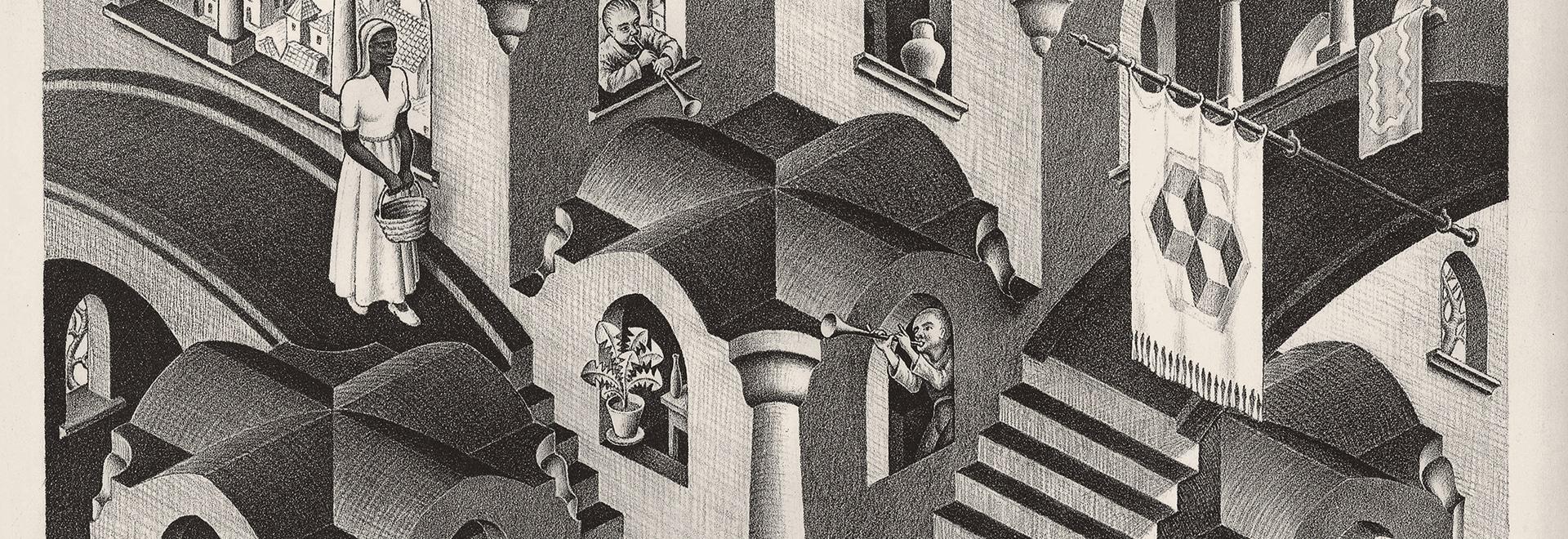 Reggiani illumina il mondo meraviglioso di Escher
