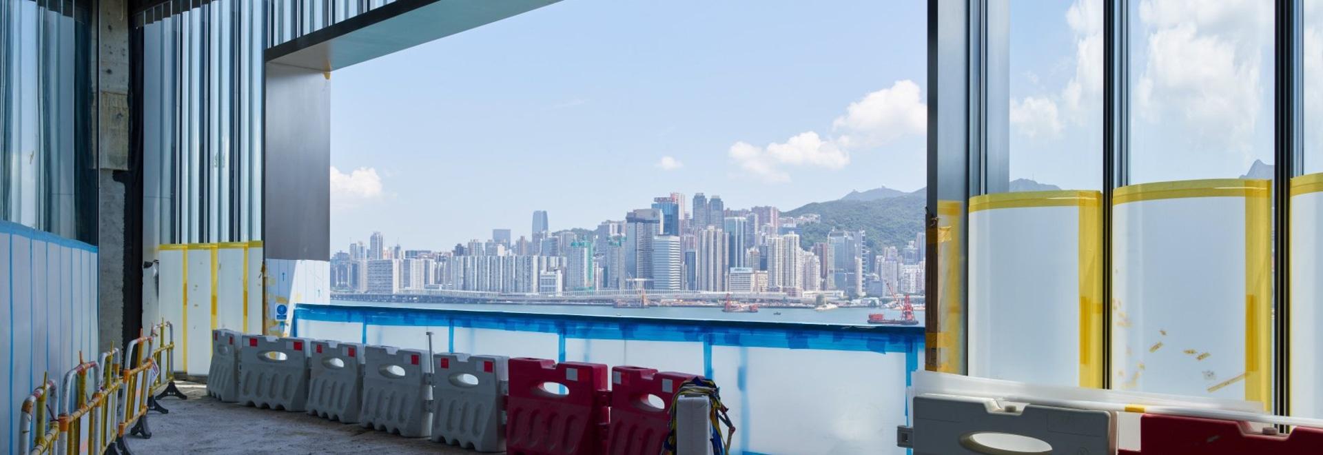 SO - IL progetta un museo d'arte contemporanea come parte del porto di victoria di hong kong kong