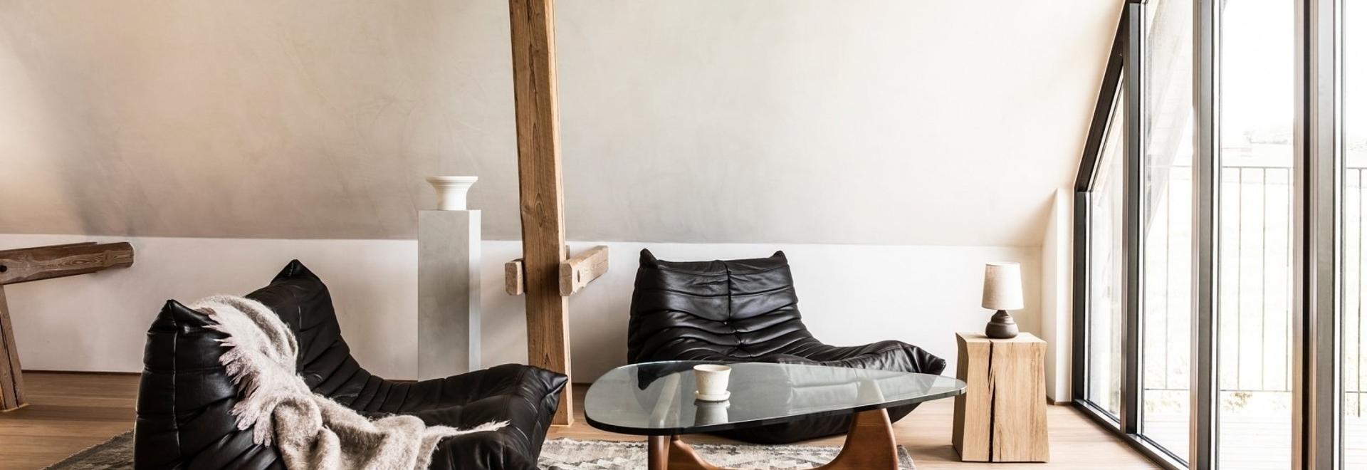 TypeO Loft: Un rifugio rurale in Svezia celebra il design scandinavo