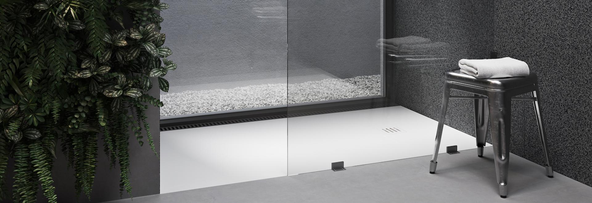 Vassoio doccia in Corian® London