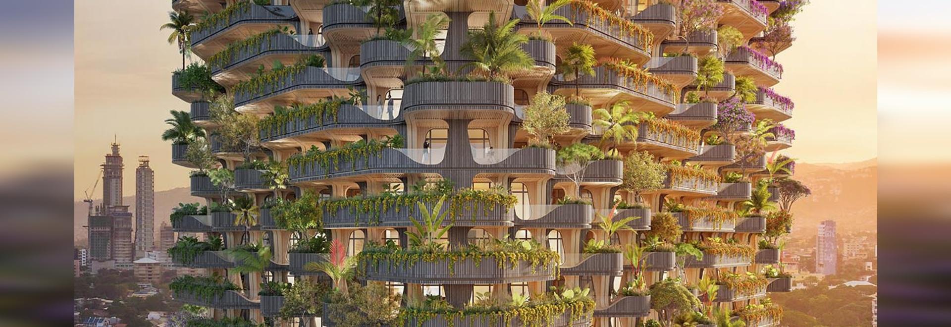 Vincent Callebaut Architectures progetta la torre residenziale Rainbow Tree nelle Filippine