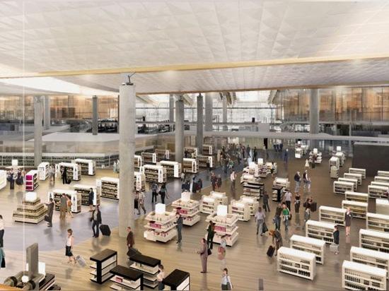 Espansione dell'aeroporto internazionale di Oslo dall'ufficio nordico di architettura