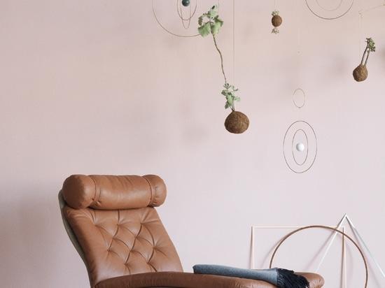 La sedia di salotto di Arne Vodder 1972 ottiene redistribuisce da Erik Jørgensen