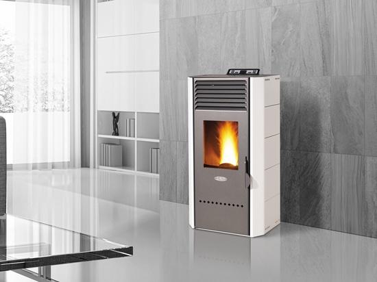 Innovativa Stufa a Pellet BIO, con Sistema Benessere Purifica, Sanifica e Riscalda l'aria