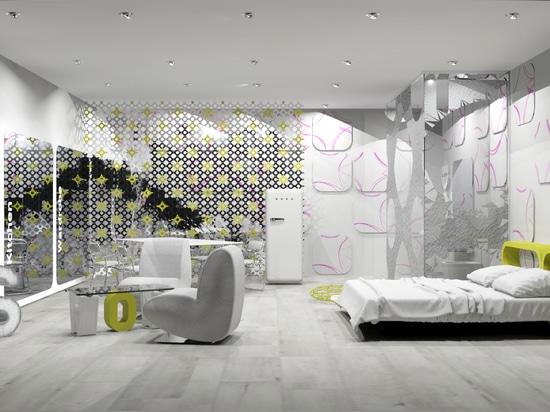 Milano Design Week, Reggiani illumina un nuovo concept di hospitality