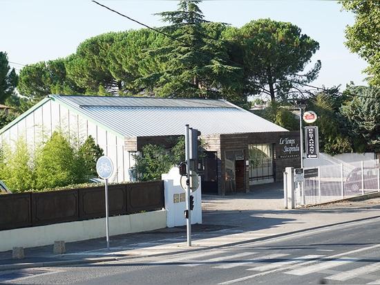 Restaurant Le Temps Suspendu: alberi (scuola materna delle società)