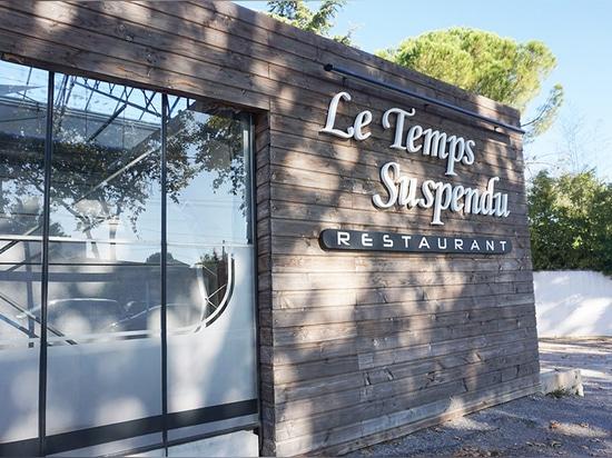 Restaurant Le Temps Suspendu: facciata